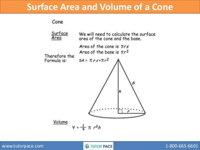 Surface Area And Volume Cylinder Cone Pyramid Sphere ...