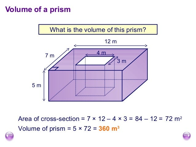 Surface area and volume of cuboids volume of a prism ccuart Images