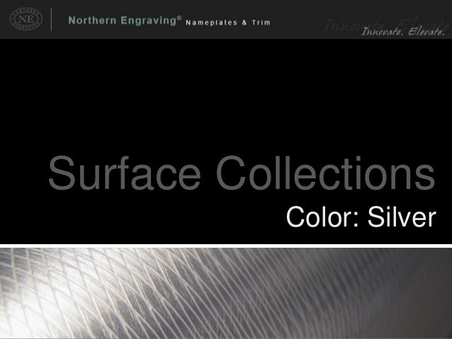 Surface Collections Color: Silver