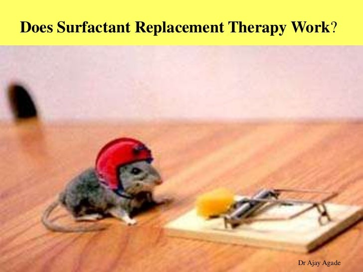 surfactant replacement therapy Background: since the first successful report of surfactant replacement therapy (srt) in infants with respiratory distress syndrome (rds), numerous randomized.