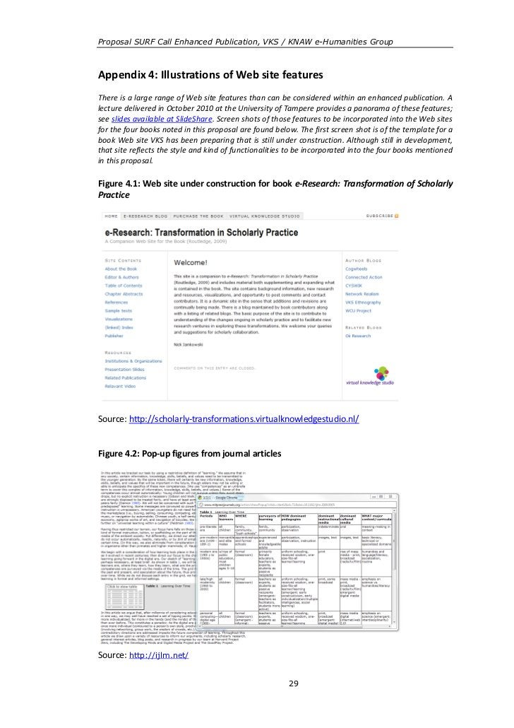 enhanced publications eHumanities Group proposal
