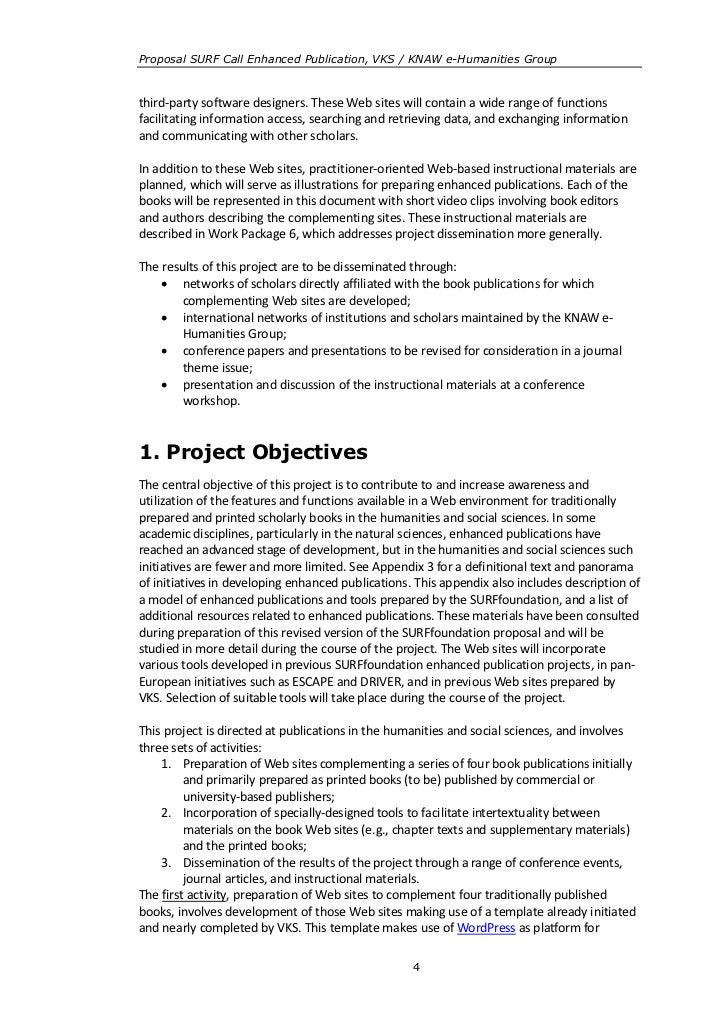 Proposal SURF Call Enhanced Publication, VKS / KNAW e-Humanities Groupthird-party software designers. These Web sites will...