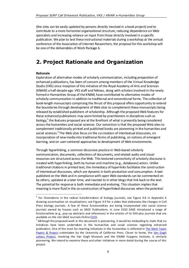 Proposal SURF Call Enhanced Publication, VKS / KNAW e-Humanities Group(the sites can be easily updated by persons directly...