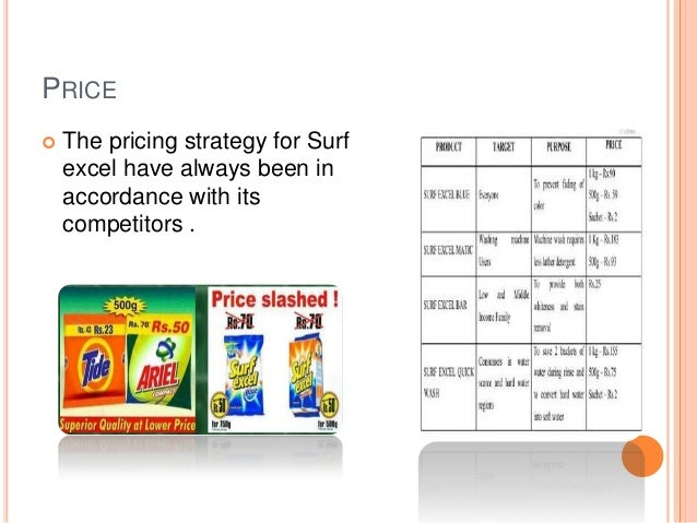 surf excel brand positioning strategy Marketing management  hul is now reworking its surf excel strategy by moving away from positioning the brand on functional benefits to building an emotional.