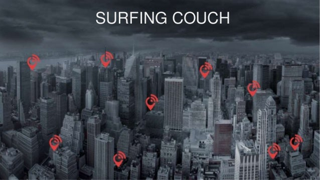 SURFING COUCH