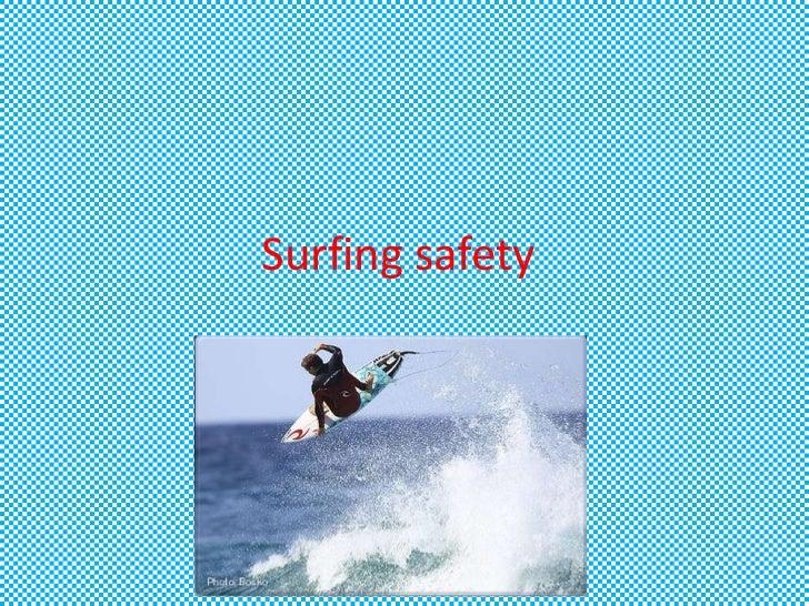 Surfing safety