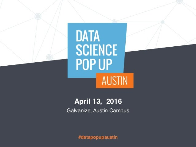 Data Science Popup Austin: Surfing Silver Dynamic Bayesian Forecasting for Fun and Profit Slide 2