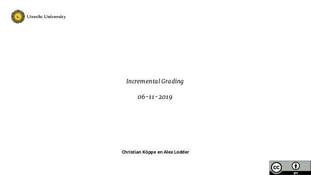 Christian Köppe en Alex Lodder Incremental Grading 06-11-2019