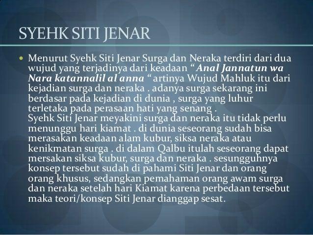Kata Bijak Syekh Siti Jenar Kata Bijak Dan Motivasi 2019