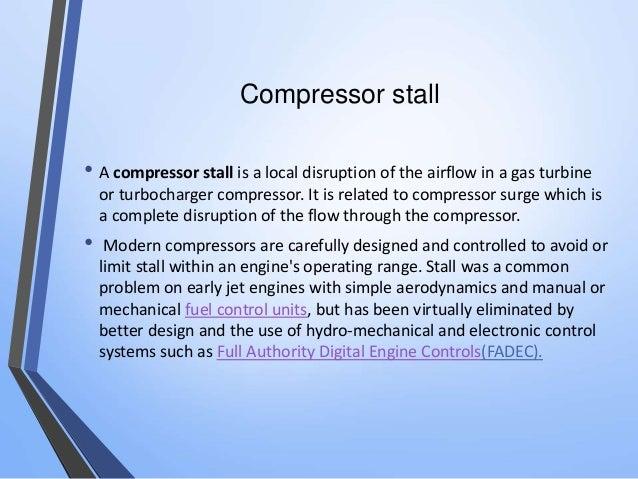Surge In Compressor