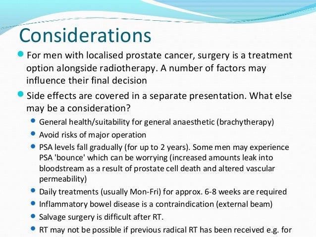 Radical Prostate Radiotherapy