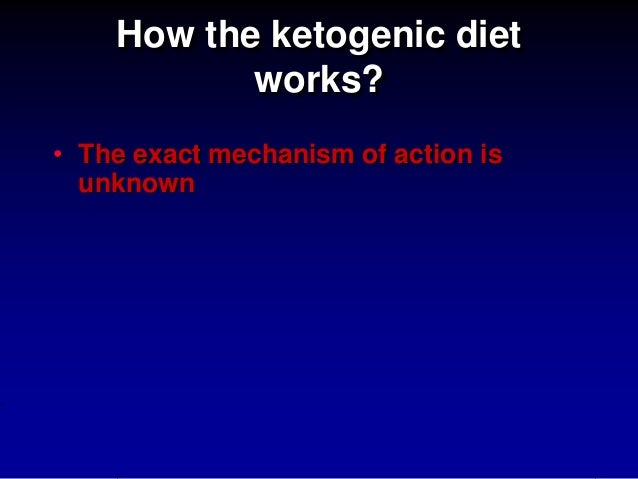 Epilepsy and ketogenic diet