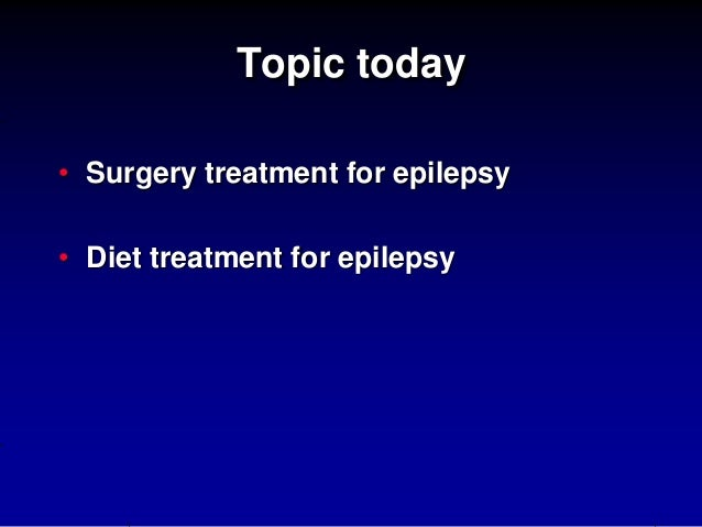An Overview of Intractable Epilepsy