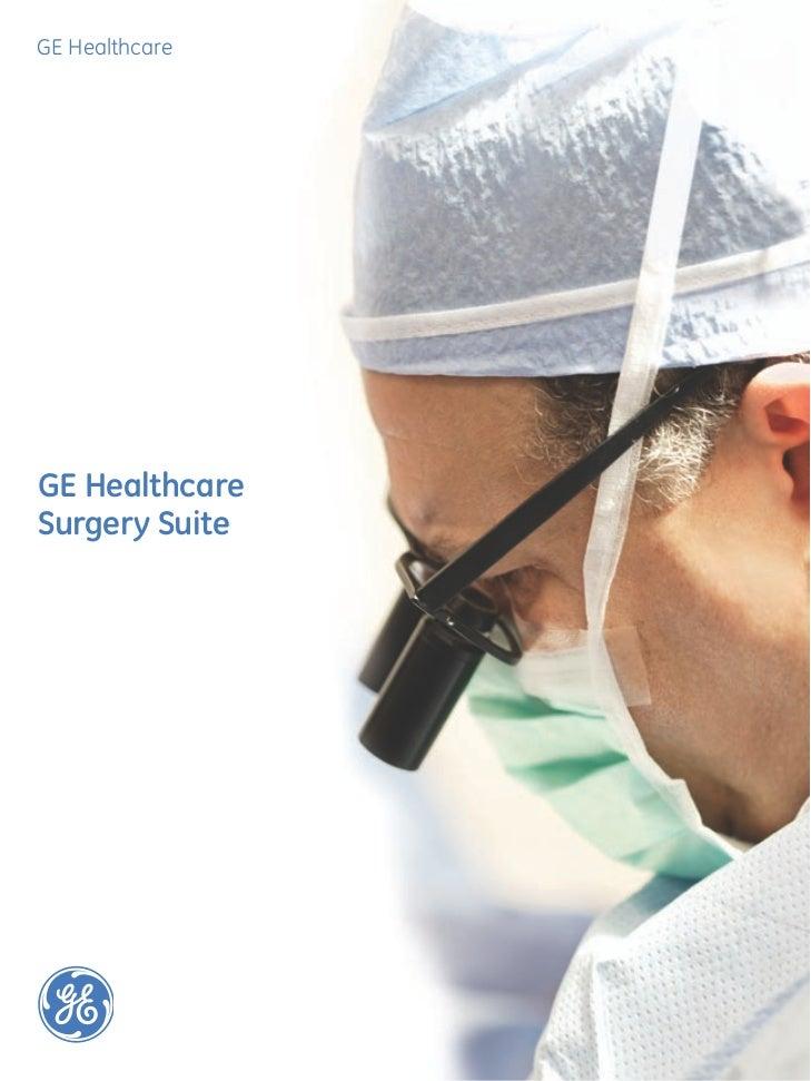 GE HealthcareGE HealthcareSurgery Suite