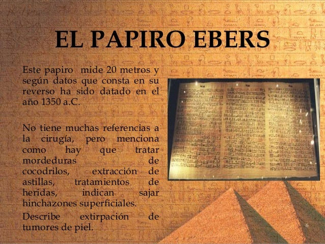 Image result for papiro de ebers