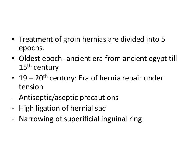 Surgical anatomy of inguinal hernia