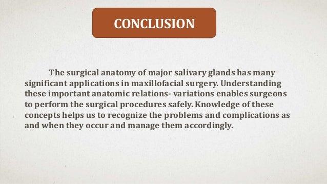 Surgical Anatomy Of Major Salivary Glands border=