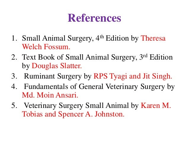 Small Animal Surgery Fossum Pdf Free Downloadgolkes