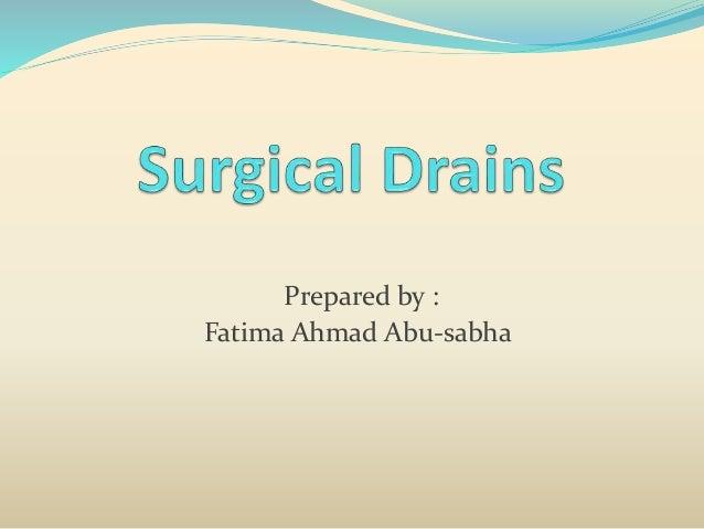 Prepared by : Fatima Ahmad Abu-sabha