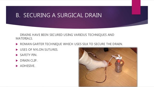 surgical drains