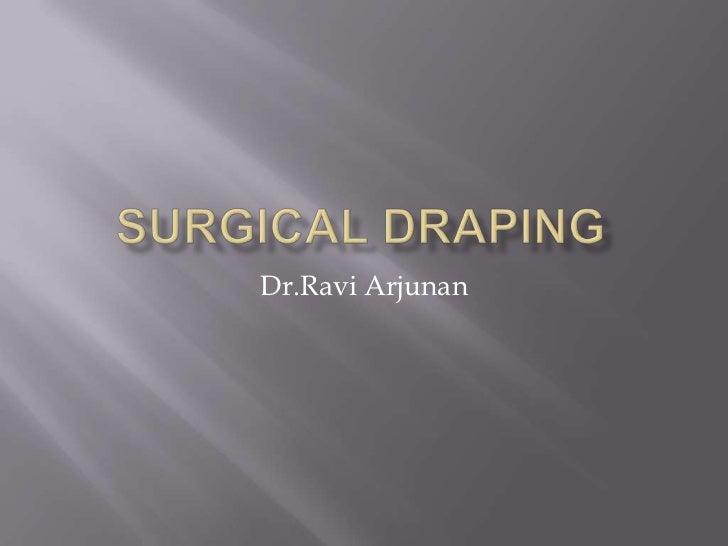 Dr.Ravi Arjunan
