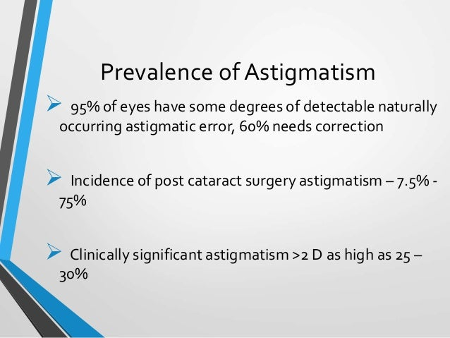 surgical induced astigmatism, Skeleton