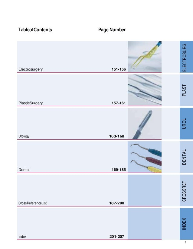 Surgical instruments supplements pdf Catalog by AB Village