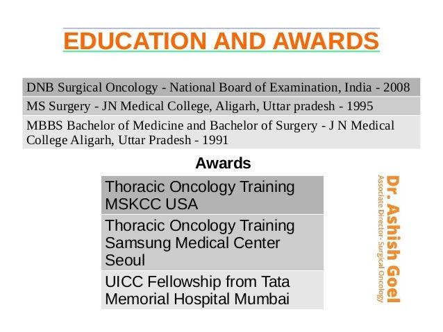Dr  Ashish Goel - Surgical Oncologist in Noida