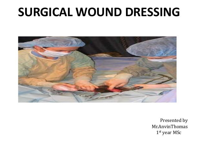 surgical wound ppt