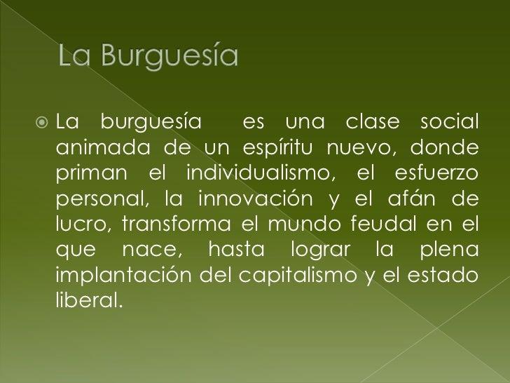    En cuanto clase, la burguesía surgió    como resultado de haber desposeído    de medios de producción a los    product...