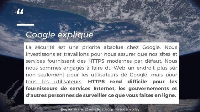 """@aysunakarsu @searchdatalogy #webcampday """"Google explique La sécurité est une priorité absolue chez Google. Nous investiss..."""