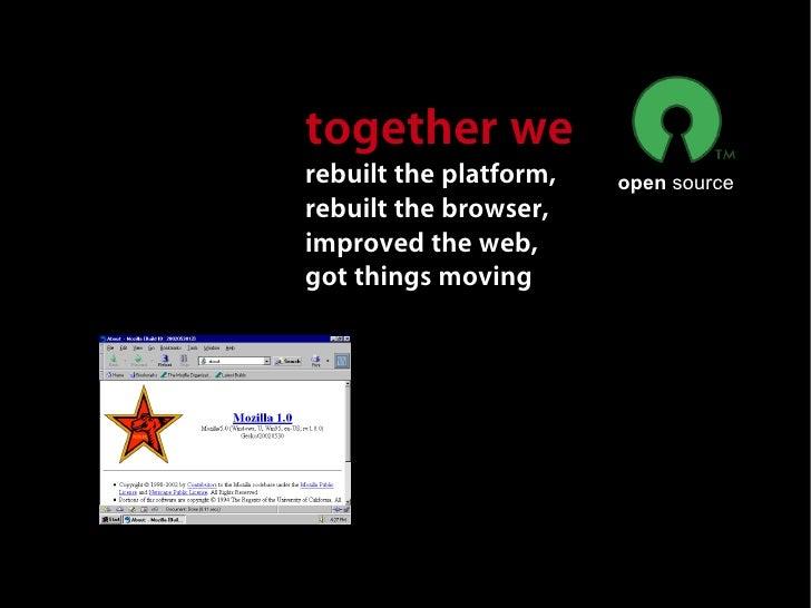 Mike  Connor, Developer               Firefox             dev team                           Daily               60       ...
