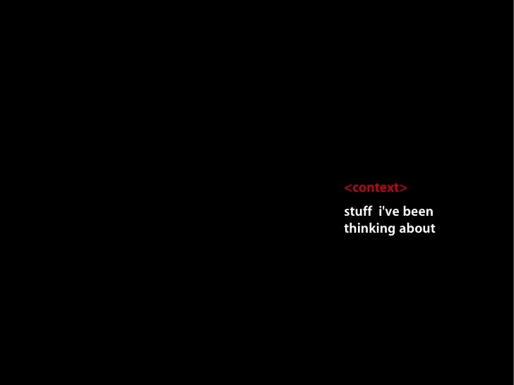 Free. Open. Future? Mark Surman FOSDEM 2009 Talk Slide 3