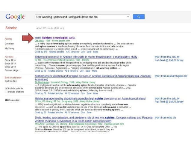 how to do advanced search in google scholar