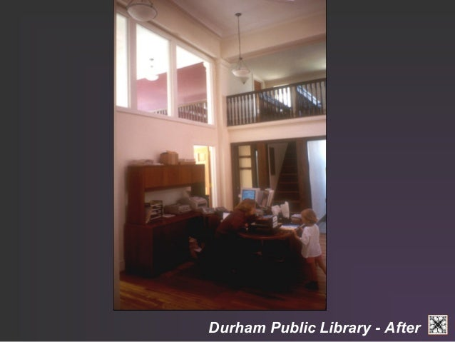 Durham Public Library - After