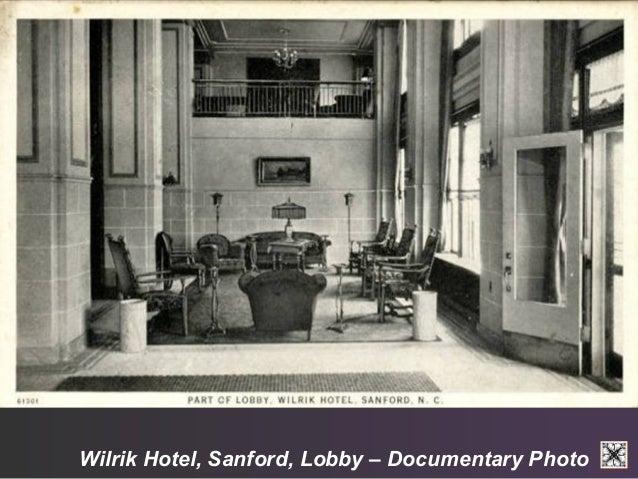 Wilrik Hotel, Sanford, Lobby – Documentary Photo