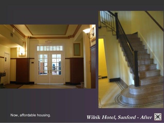 Wilrik Now, affordable housing. Hotel, Sanford - After