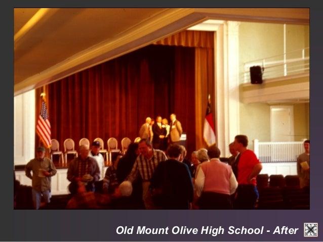 Old Mount Olive High School - After