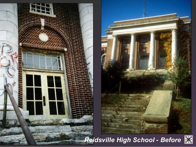 Reidsville High School - Before