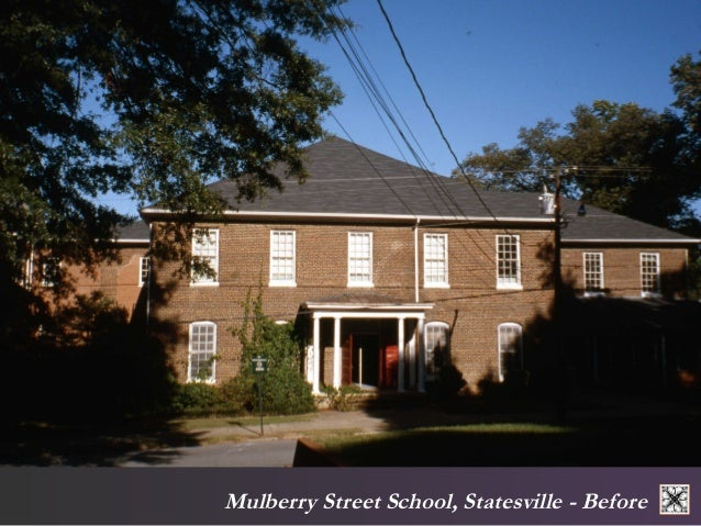 Mulberry Street School, Statesville - After Former school,  now affordable housing.