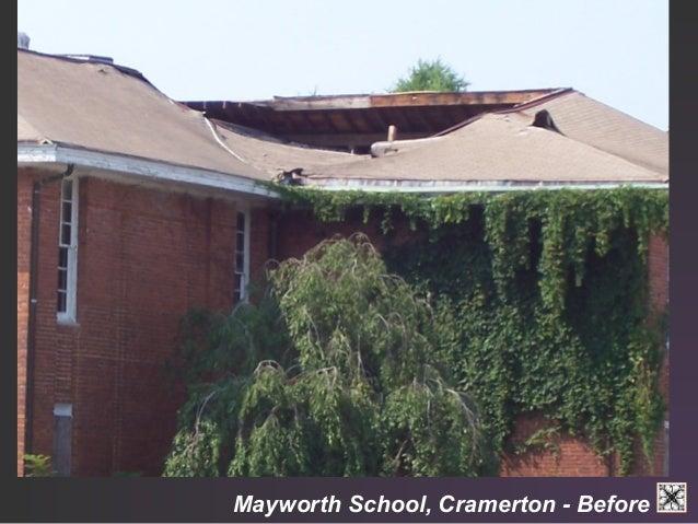 Mayworth School, Cramerton - Fire