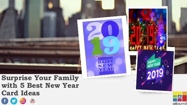 surprise your family with 5 best new year card ideas family with 5 best new year card ideas