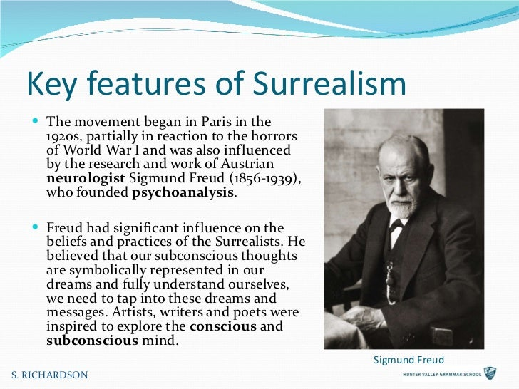 the definition of surrealism and the surrealist movement in the 1920s Surrealism in a revolution landscapes—images of natural scenery—remained a popular subject at the height of the surrealist movement in the 1920s.