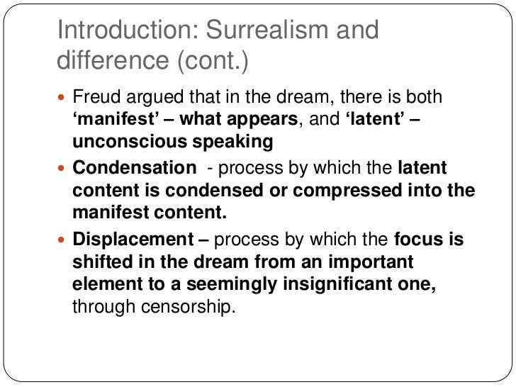 freud unconscious mind essay Dreams, as had been expressed by freud, cannot merely be regarded as the unconscious thought's expressive or direct form the author, in this article, invokes freud's explication or elucidation of dreams in an attempt to initiate debate on the entire proposition as a product of an analytic process.