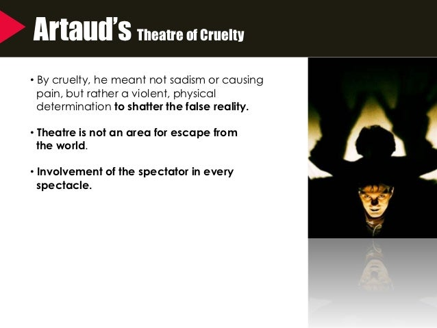 theater of cruelty definition