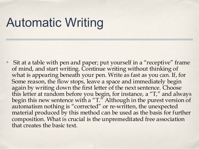 How does Auto Writer work?