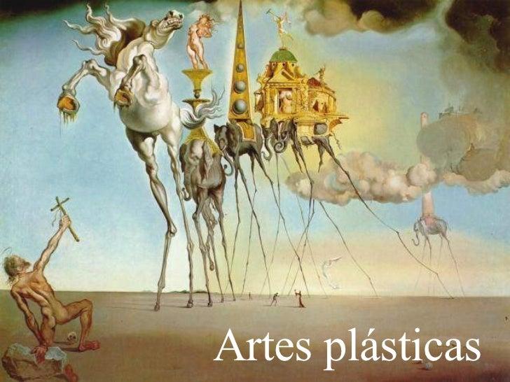 Artes plásticas          Foi através da pintura que as          idéias do surrealismo foram          melhor expressadas. A...
