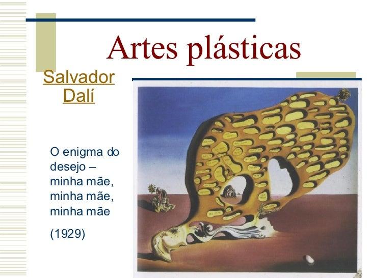 Artes plásticas   Salvador     Dalí    Relembrando o cabeção...