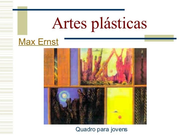 Artes plásticas Max Ernst      Madonna de Sanzio   Madonna de Ernst
