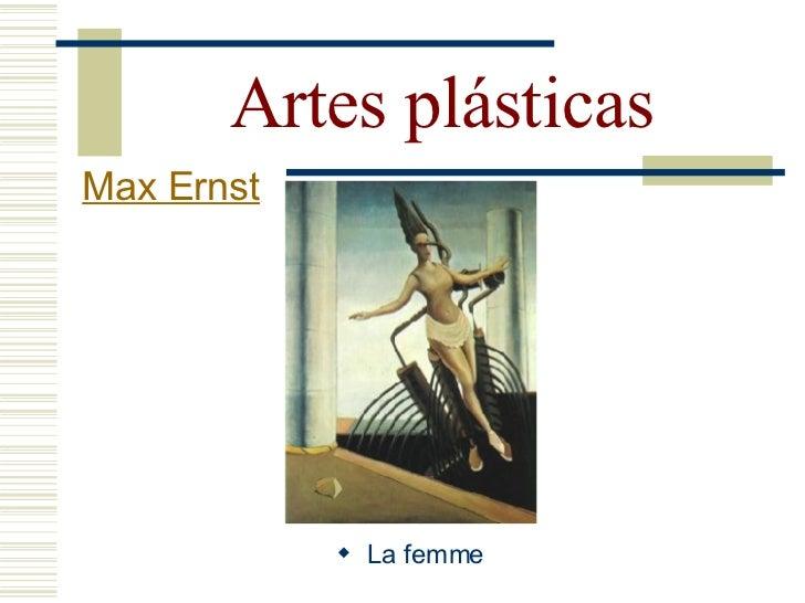 Artes plásticas Max Ernst                  Colagem